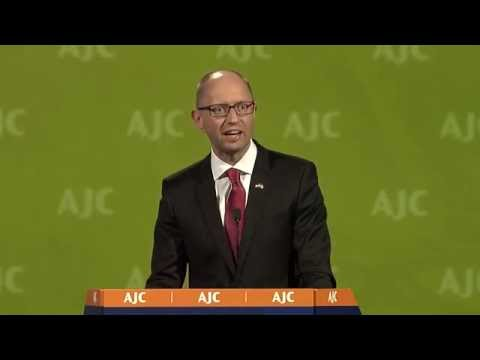 AJC Global Forum: Arseniy Yatsenyuk, Prime Minister of Ukraine