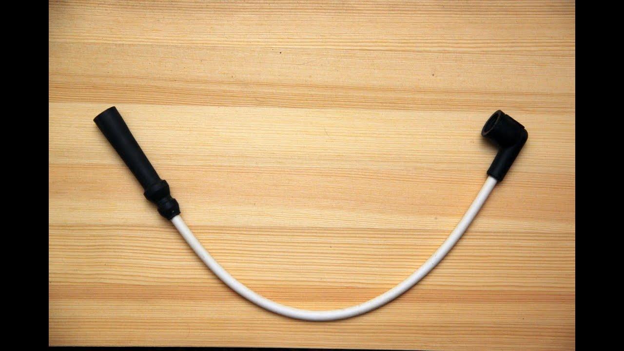 Как сделать высоковольтные провода зажигания своими руками
