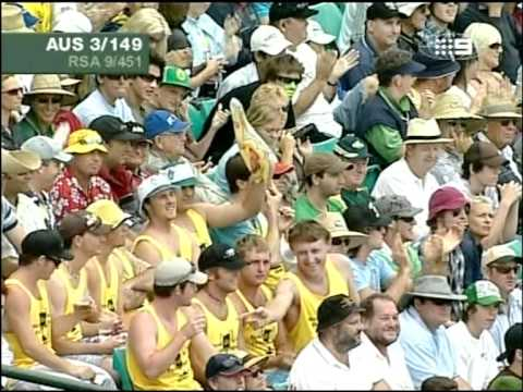 Ricky Ponting 120 vs South Africa 100th test 1st innings 2005/06