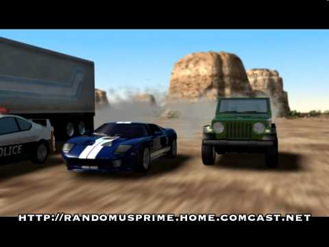 Transformers - Prowl vs Soundwave Video