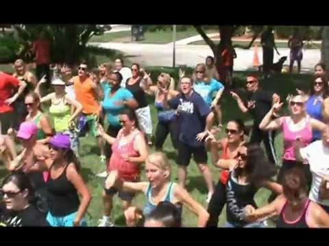 FLORIDA'S SPACE COAST LOVES TO ZUMBA ON NATIONAL DANCE DAY