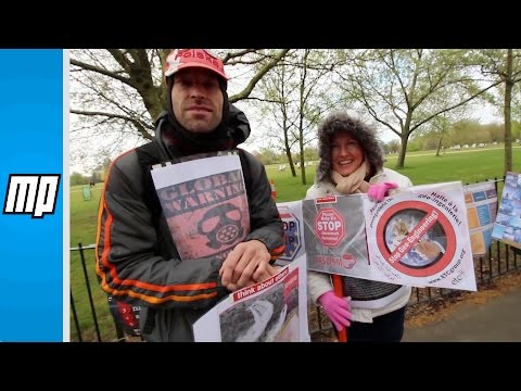 MP Media - March Against Chemtrails and Geoengineering - London 2016 - #6 - Protester Interview