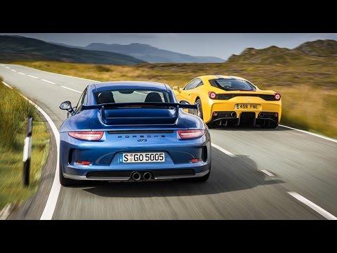 Porsche 911 GT3 and Ferrari 458 Speciale