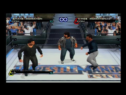 Shane McMahon vs Vince McMahon (One Referee Match) - WWF Smackdown JBI (PS2) thumbnail