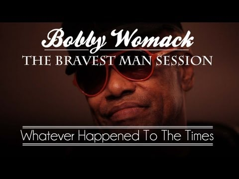 "Bobby Womack & Damon Albarn Perform ""Whatever Happened To The Times"" - 1 of 4"