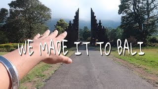 | WE MADE IT TO BALI | BALI VLOG EP 1 | FT NOFILTR |