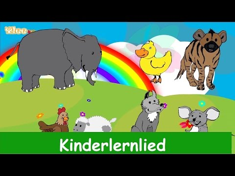 Die Lieder Der Tiere - Kinderlied In Deutscher Sprache - Yleekids Deutsch