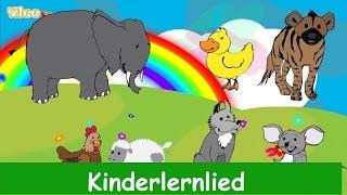 Die Lieder der Tiere - Kinderlied in Deutscher Sprache - Sing mit Yleekids
