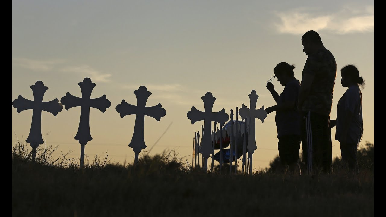 Small Texas town mourns church massacre victims