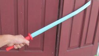Comment créer une épée katana japonais en utilisant du papier