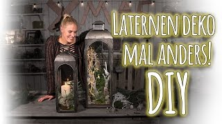 Laternen deko mal anders! - DIY