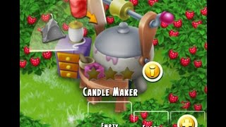 Hay Day level 48 Candle Maker tutorial