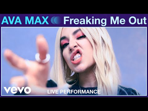 """Ava Max - """"Freaking Me Out"""" Live Performance 