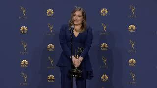 Merritt Wever - Emmys 2018 - Backstage Speech