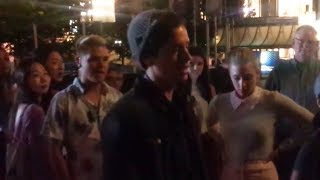 Cole Sprouse FIGHTS With A Street Performer On The Riverdale Set