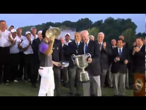 Rory McIlroy Saves Dropping of PGA Championship Trophy