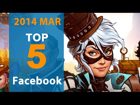 5 Best Facebook Games for March 2014