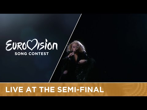 Greta Salóme - Hear Them Calling (Iceland) Live at Semi - Final 1 at Eurovision 2016
