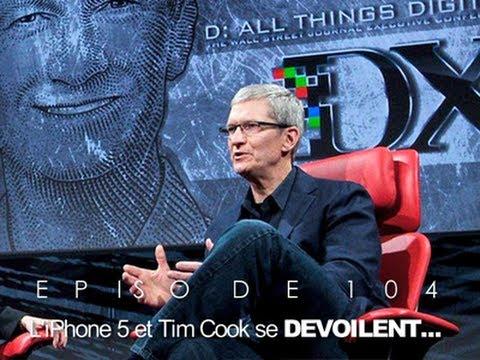 ORLM-104 : l'iPhone 5 et Tim Cook se dévoilent...
