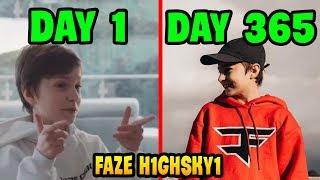1 Year of FAZE H1GHSKY1...   Fortnite Kids Compilation