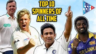 Top 10 Spinners in Cricket History All Time