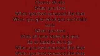 Watch Leann Rimes When You Love Someone Like That video