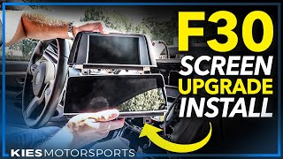 """How to install an Upgraded 8.8"""" Screen in your F30, F32, F3x BMW (BimmerTech's all new VividScreen!)"""