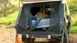 Track Trailer Camper Tip and Hints as seen on Whats Up Downunder