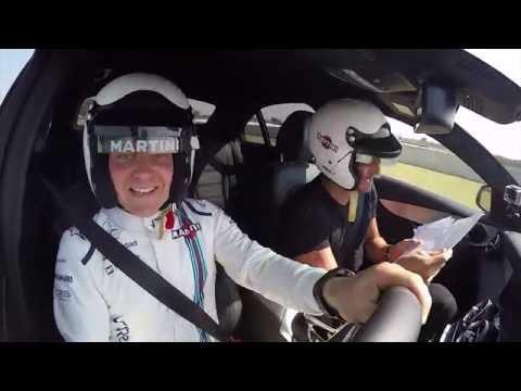 Valtteri Bottas Makes 'Fast Friends' With David Gandy Speeding Around A Racetrack | AutoMotoTV