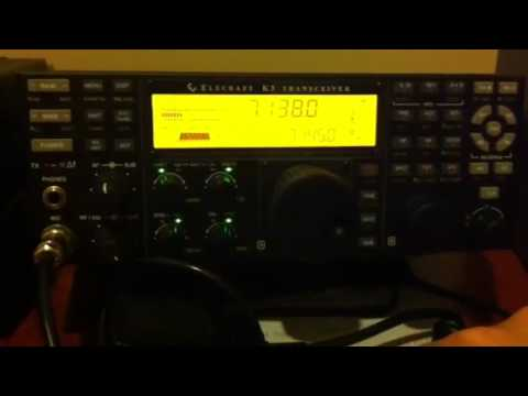 Vintage Icom-720A Vs Elecraft K3
