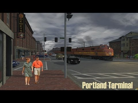 Railworks 3 [HD] Train Simulator 2012 / Portland Terminal [1]