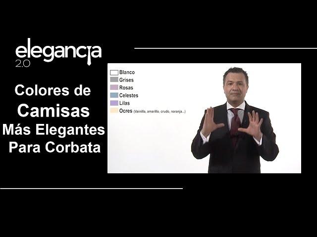 Colores de Camisas Más Elegantes para Corbatas - Bere Casillas (Elegancia 2.0)