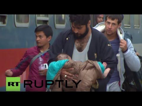 Hungary/Austria: Thousands rush into Austria ahead of Orban's stricter border controls