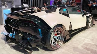 LS Swapped Lamborghini at SEMA 2019!