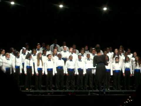 Dent Middle School Winter Concert.