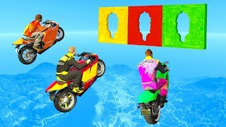 Fly Through The HOLE And You WIN! - GTA 5 Funny Moments