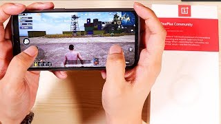 OnePlus 6T Unboxing and Hands On - Pubg, Battery, Camera