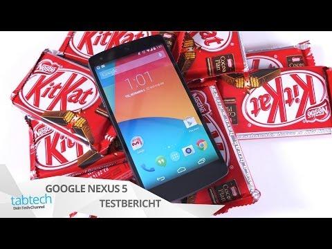 Review: Google Nexus 5 im Test mit Android 4.4 Kitkat   tabtech.de