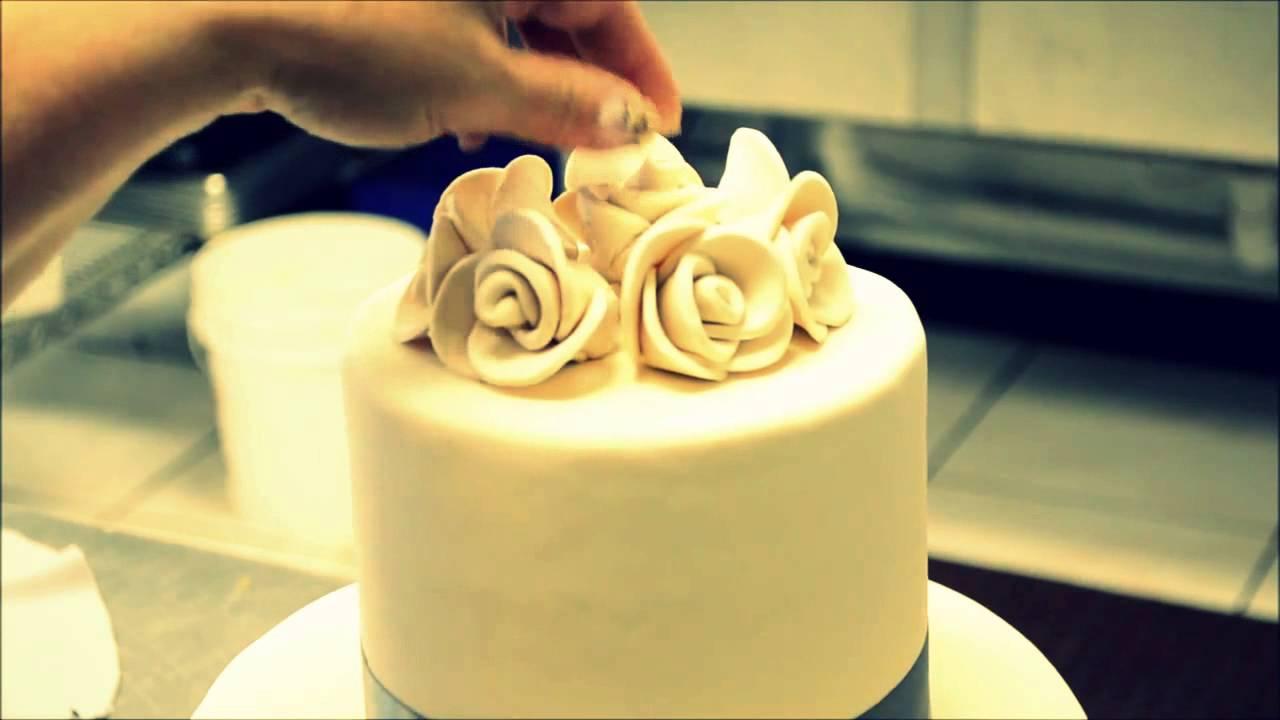 Украшение тортов  видео 47