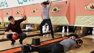 OVERNIGHT IN A BOWLING ALLEY!!! (DO NOT TRY THIS! WE SNUCK IN!)