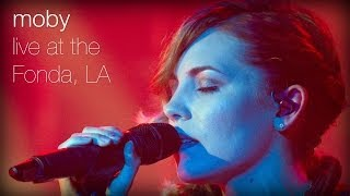 Moby Southside Feat Skylar Grey Live At The Fonda L A