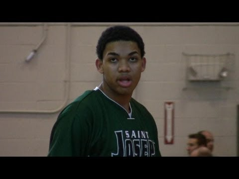 Karl Towns Kentucky Commit - #3 Junior in Country - 2012 High School OT Invitational - St Joes