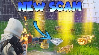 Dumb Scammer Nearly Scams *NEW* SWORD!! *NEW SCAM* (Scammer Gets Scammed) Fortnite Save The World