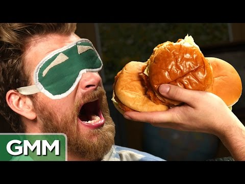 Blind Chicken Sandwich Taste Test