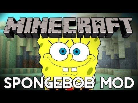Minecraft mody 1.6.2 #22 The Spongebob Skalmar Krab Sendy OMG