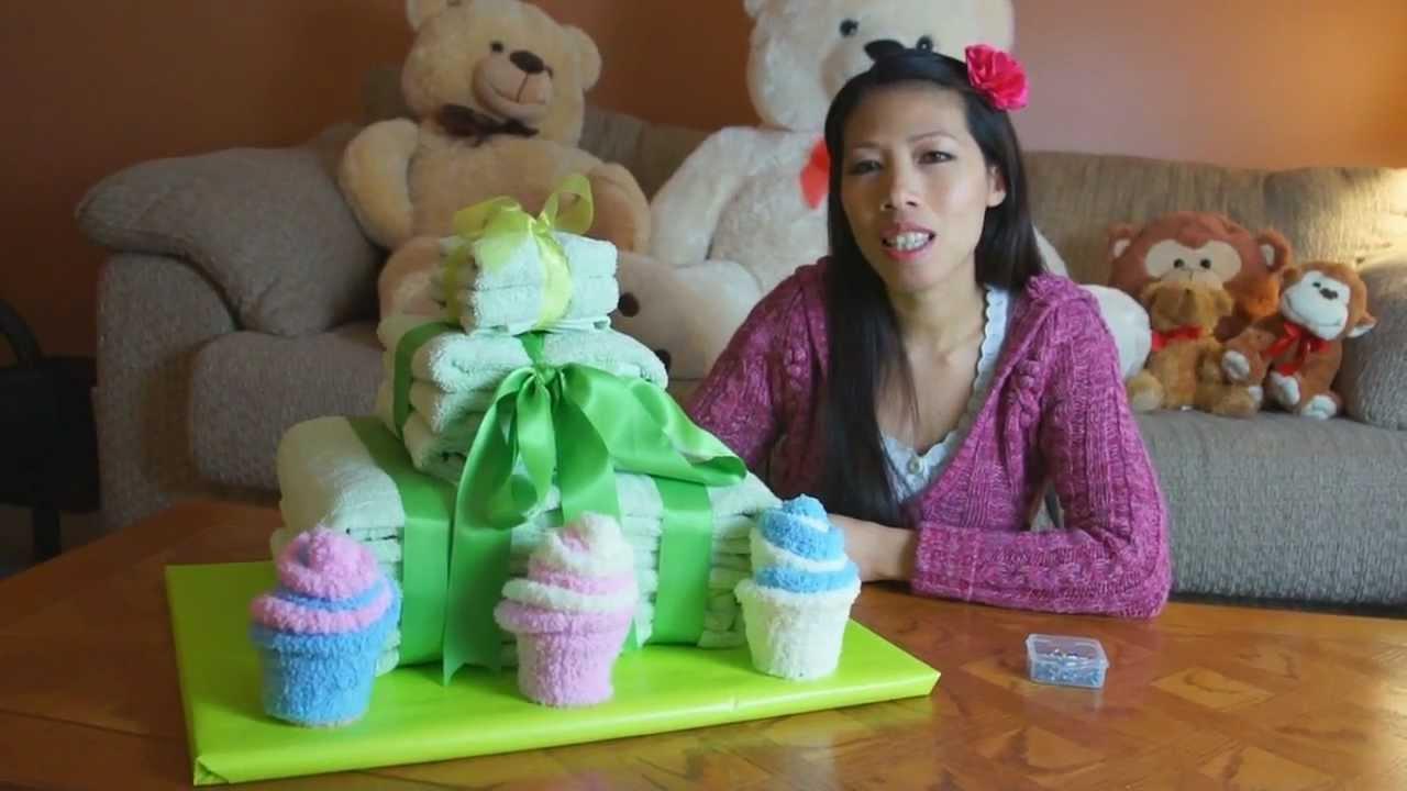 Towel Cake How To Make Youtube