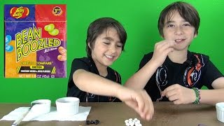 The jeffmara channel does the Bean Boozled Challenge