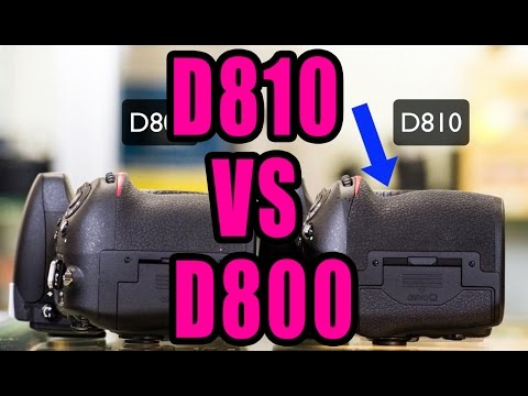 Nikon D810 VS Nikon D800: Unboxing And Sniff Test