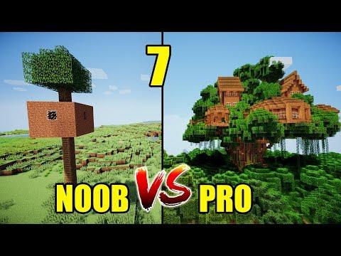 MINECRAFT - NOOB VS PRO (parte 7)