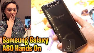 Samsung Galaxy A80 Quick Review and First Impressions
